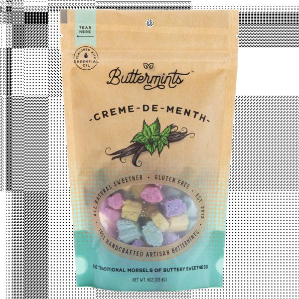 creme-de-menth buttermints, buttermints
