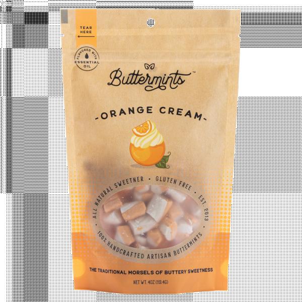 orange cream buttermints, buttermints