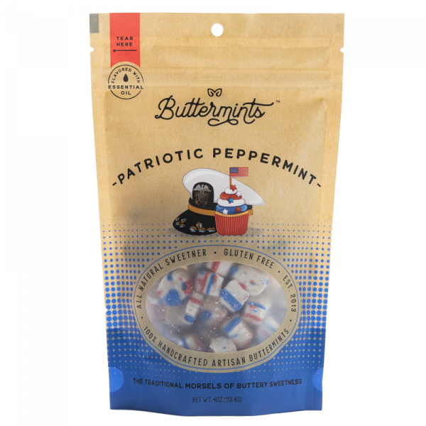 patriotic peppermint buttermints