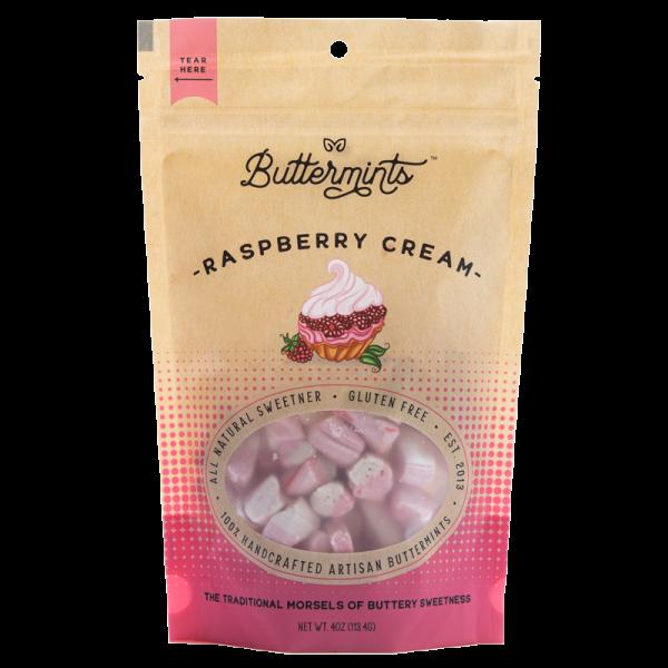 raspberry cream buttermints, buttermints