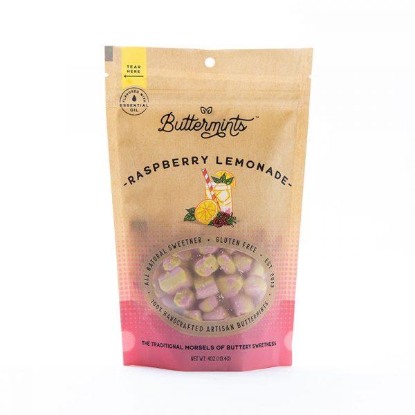 raspberry lemonade buttermints, butter mints